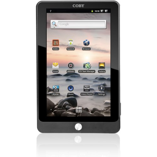 Coby Kyros 7-Inch Android 2.3 4 GB Internet Touchscreen Table- MID7016-4G (Black)