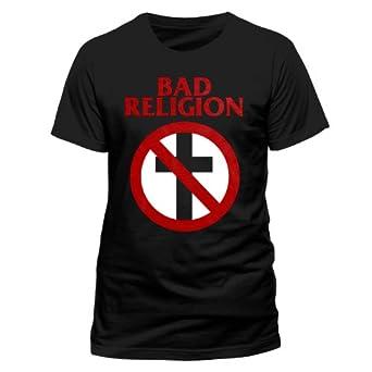 Bad Religion - Cross Buster T-Shirt, schwarz, Grösse S