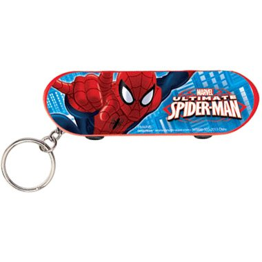Spider-Man Skateboard Keychain