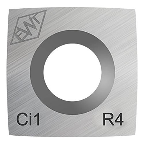 Authentic Easy Wood Tools Ci1-R4 Square Carbide Replacement Cutter with 4