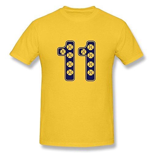 Baseball Number Men High Quality Tshirts