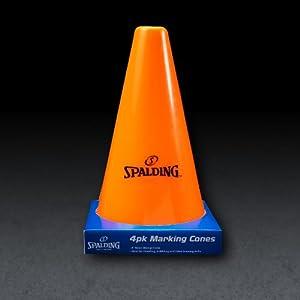 Spalding Training Cones (4-Pack)