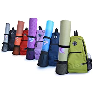 Buy Aurorae Yoga Mat Sport Bag Multi Purpose Crossbody Sling Backpack by Aurorae