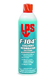 LPS 428-04920 F-104° Fast Dry Solvent/Degreasers, 15 fl. oz. Aerosol Can