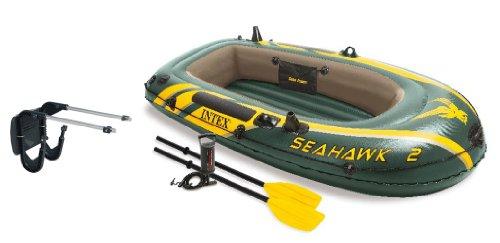 Intex Seahawk 2 Inflatable Boat Set + Oars/Pump/Motor Mount   68347EP + 68624E (Intex Seahawk Ii Boat Set compare prices)