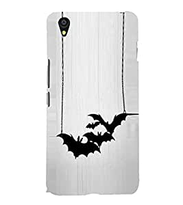 Bats 3D Hard Polycarbonate Designer Back Case Cover for OnePlus X :: One Plus X :: One+X