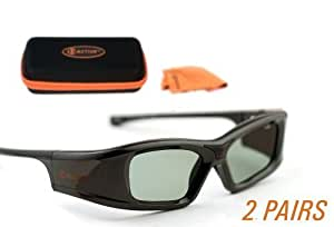 SONY® Compatible 3ACTIVE Bluetooth (RF) 3D Glasses.