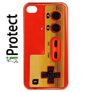 Iprotect ORIGINAL RETRO STYLE HIGHCLASS NES GAME CONTROLLER HARDCASE FÜR DAS IPHONE 4