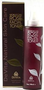 Devita Moroccan Rose Facial Toner, 5 Ounce
