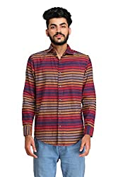 Snoby multicolor cotton blend shirt SBY8083