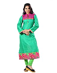 Arista Designer Ready To Wear Green Kurti Size - 38 (KR87)
