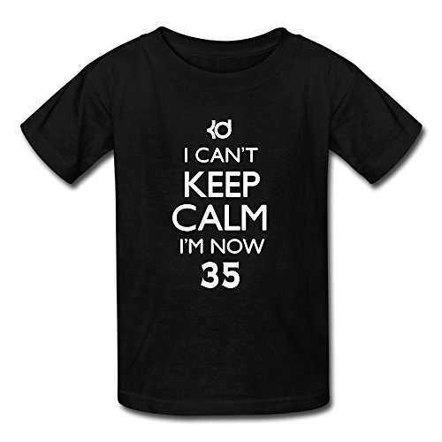 [Sunflower Youth T Shirt Vintage I Can't Keep Calm I'm Now 35# Black SizeXL] (Assassins Creed Unity Costume Customization)