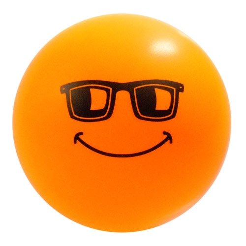 Happy Smile Face Stress Ball - Cool Shades - 1