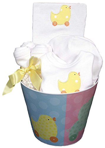 Raindrops Baby Accessory, Unisex Duck Set, Yellow