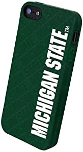 Buy Forever Collectibles NCAA Michigan State Spartans Silicone Apple iPhone 5 5S Case by Forever Collectibles