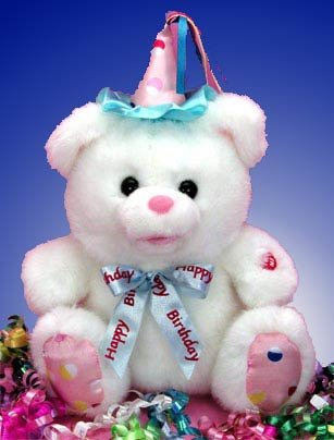 The Happy Birthday Singing Birthday Bear