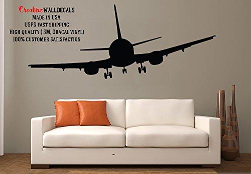 wall decal vinyl sticker decals art decor design airplane military war air aviation sky attack man - Aviation Decor