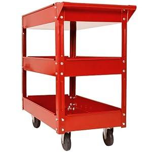 Werkzeugwagen / Rollwagen Werkstattwagen mit 3 Etagen (Einzeln)