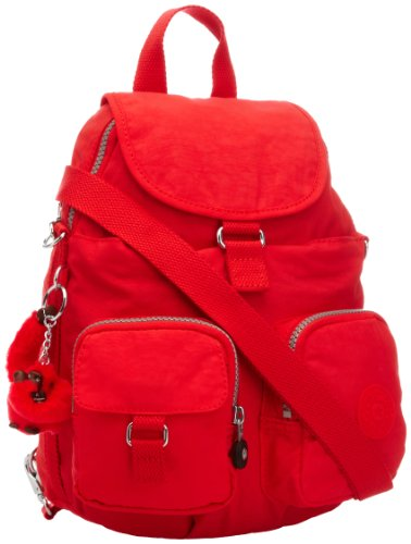 Kipling Womens Firefly N Backpack K1310810P Cardinal Red