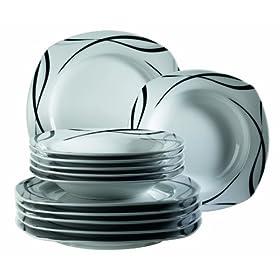 Domestic oslo 920673 servizio da tavolo in porcellana 12 for Piani e prezzi domestici