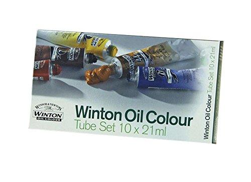 Winsor & Newton Winton Oil Colors Set - Basic 10 Color Set. (Oil Paint Sets compare prices)