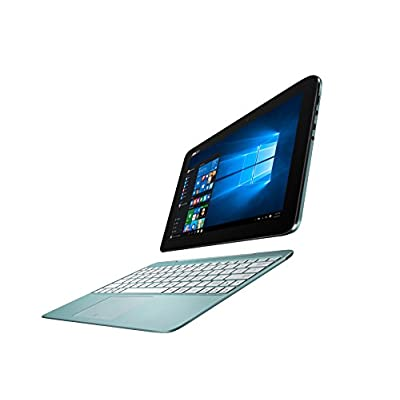 Asus  T100HA-FU009T 10.1-inch Laptop (Intel Atom Z8500/2GB/64GB/Window 10/Integrated Graphics), Aqua Blue