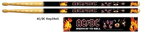 AC/DC Highway to Hell Drum Sticks