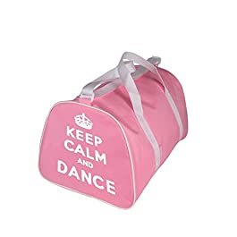 KEEP CALM AND DANSE Sac Fourre-tout pour danseur en rose, Rouge, noir ou bleu - Rose - Keep Calm and Danse