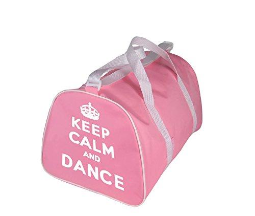 KEEP CALM AND DANSE Sac Fourre-tout pour danseur en rose, Rouge, noir ou bleu - Rose - Keep Calm and Danse