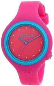 Rip Curl Aurora PU Watch in Pink/Blue sz:One Size
