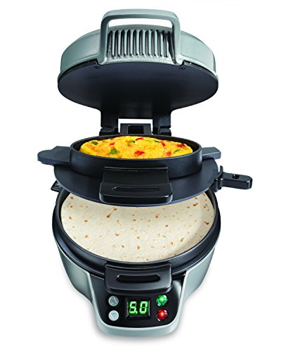 For Sale! Hamilton Beach 25495 Breakfast Burrito Maker, Silver