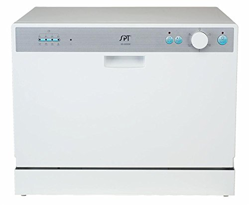 Countertop Dishwasher Magic Chef : Countertop Dishwasher in White 6 Place Settings -Magic Chef Check ...