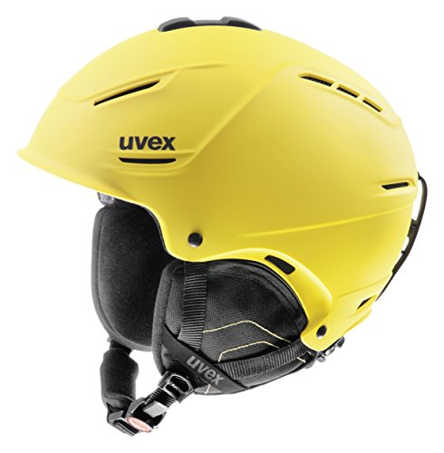 Uvex Casco Da Sci P1Us - Giallo Opaco, 59-62 Cm