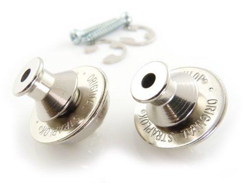 Dunlop Dual Design Straplok System, Silver