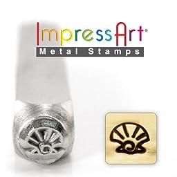 ImpressArt- 6mm, Shell Metal Stamp