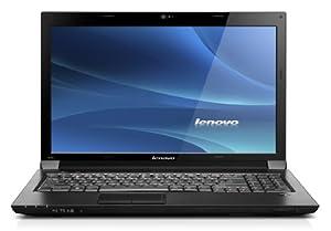 Lenovo B560 39,6 cm (15,6 Zoll) Notebook (Intel Pentium P6100, 2GHz, 4GB RAM, 500GB HDD, Intel 4500 HD, Win7 HP, DVD) schwarz