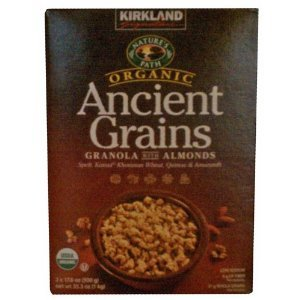 Nature's Path Organic Ancient Grains with Almonds 2 17.6 Oz Bags