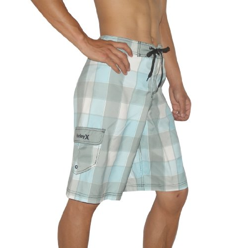Mens Hurley Skate & Surf Boardshorts Board Shorts - Multicolor (Size: 34)