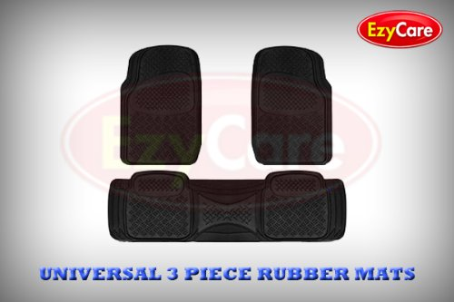 SUBARU FORESTER (97-03) 3 PIECE RUBBER CAR MAT SET HEAVY DUTY
