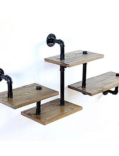 Homing Decor Loft diseño innovador estantes de DIY libro antiguo estilo retro industrial tuberías estante estantería shelves-z29