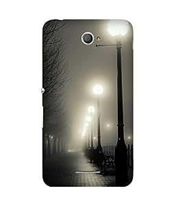 Street lights Sony Xperia E4 Case
