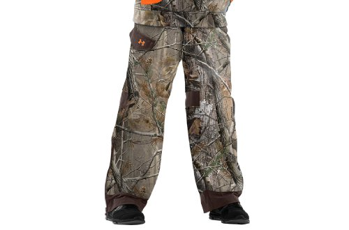 Under Armour Boys' Ayton Camo Hunting Pants Bottoms by Under Armour