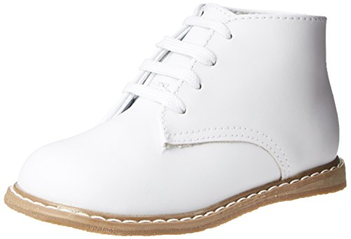 Baby Deer High Top Leather First Walker (Infant/Toddler),White,5 M US Toddler