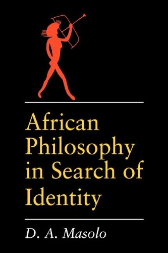 African Philosophy in Search of Identity (African Systems of Thought)