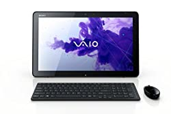 Sony VAIO Tap All-in-One Touchscreen SVJ20215CXB 20-Inch Desktop (Black)