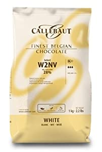 Callebaut white chocolate chips (callets) 1kg
