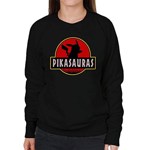 Pikachu-Pokemon-Jurassic-Park-Pikasaurus-Womens-Sweatshirt