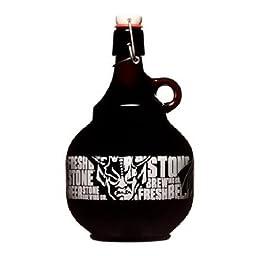 Stone Brewing Swing Top Beer Growler 2 Liter