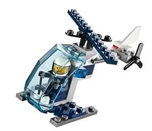 Lego Police Hélicoptère 30222 - Jeu De Construction Dans Un Sac