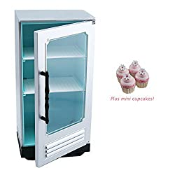 American Girl Grace French Bakery Refrigerator For 18 Inch Dolls With Cupcakes New